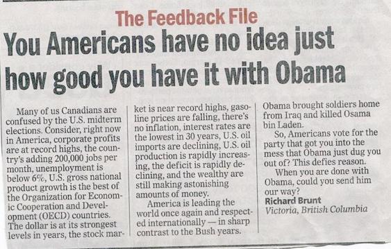 Canadian Story - Obama VancouverSun